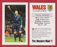 Wales Paul Jones Southampton